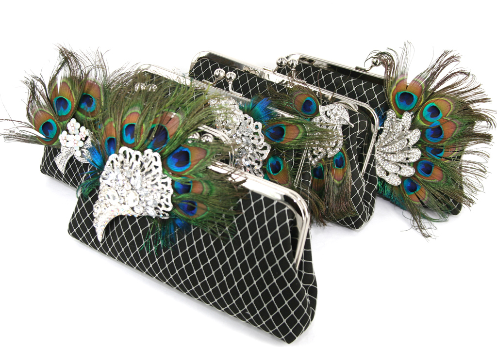ANGEE W Bridal Party Clutch Bags